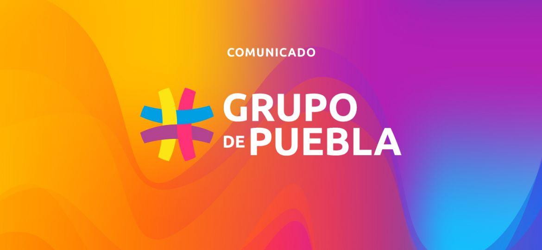 COMUNICADO Grupo de Puebla