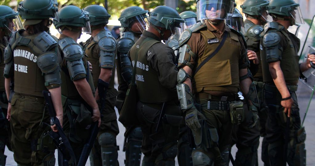 Protests Continue In Chile